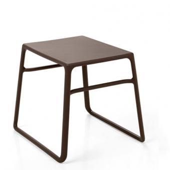 Nardi Gartenhocker Beistelltisch Tavolino Pop stapelbar 44x39,5 caffé Bild 1