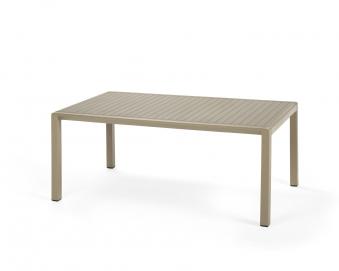 Nardi Gartentisch / Beistelltisch Aria 100 Kunstst. 100x60cm avana Bild 1