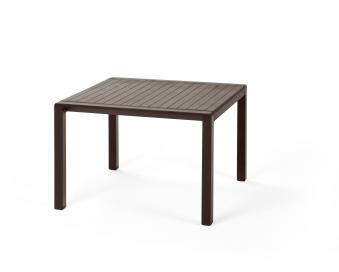 Nardi Gartentisch / Beistelltisch Aria 60 Kunstst. 60x60cm caffé Bild 1