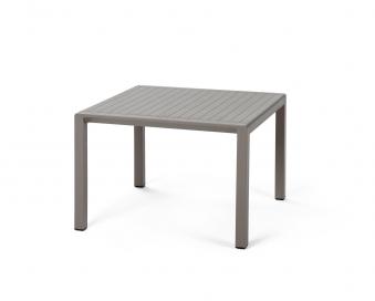 Nardi Gartentisch / Beistelltisch Aria 60 Kunststoff 60x60cm tortora Bild 1