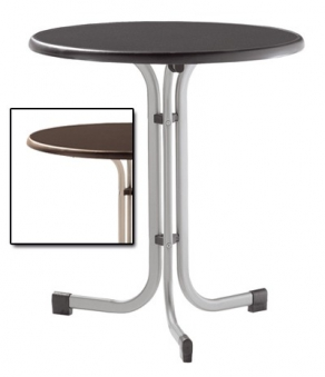 sieger gartentisch klapptisch 70cm stahl champ mecalit mocca bei. Black Bedroom Furniture Sets. Home Design Ideas