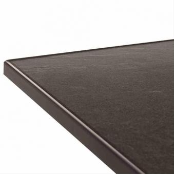 SIEGER Gartentisch / Klapptisch 165x95cm Stahl graphit / Vivodur anthr Bild 2