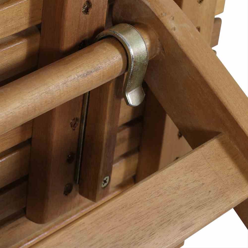 Siena Garden Gartentisch / Klapptisch Falun Akazienholz 120x80cm Bild 3