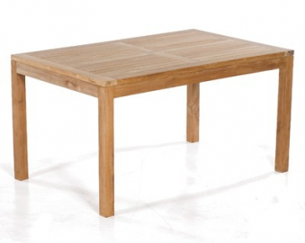 Sunny Smart Gartentisch / Massivholztisch eckig Wellington 140x90 Teak Bild 1