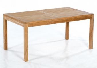 Sunny Smart Gartentisch / Massivholztisch eckig Wellington 160x90 Teak Bild 1