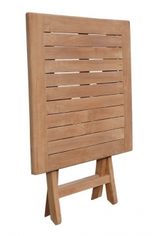 Sunny Smart Gartentisch / Massivholztisch klappbar Perth 70x70cm Teak Bild 2