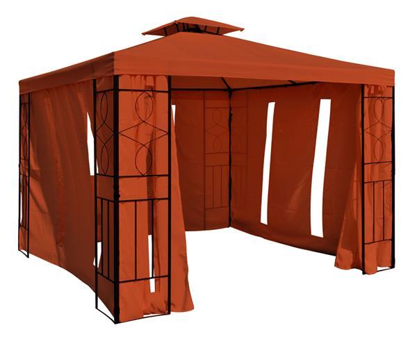 gartenpavillon metall preisvergleiche. Black Bedroom Furniture Sets. Home Design Ideas