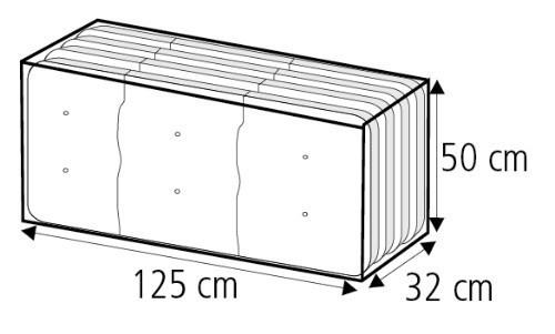 Gartenmobel Tisch Klappbar :   Transporttasche für 4 Auflagen anthrazit  bei edingershopsde