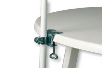 sonnenschirmhalter tischklammer f r schirmst cke bis 25mm bei. Black Bedroom Furniture Sets. Home Design Ideas