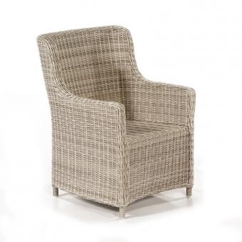 korbsessel gartenm bel polyrattan medelin antikweiss bei. Black Bedroom Furniture Sets. Home Design Ideas