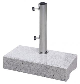 balkon sonnenschirmst nder derby granitsockel 25 kg bis 50 mm bei. Black Bedroom Furniture Sets. Home Design Ideas