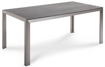 gartentisch lofttisch seattle 180x90cm alu kunststoff silber anth bei. Black Bedroom Furniture Sets. Home Design Ideas